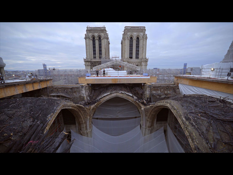 Notre-Dame of Paris, the Rise from the Ashes  by Laurent Fléchaire